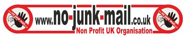 No Junk Mail Logo, Image, Jpg, www.no-junk-mail.co.uk, Sign, Sticker,