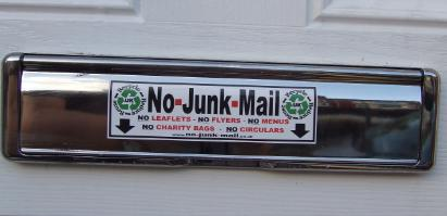 No Junk Mail Sign, No Junk Mail Sticker, Letterbox Sticker, No Junk Mail Signs, No Junk Mail Stickers